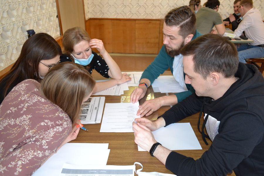 Молодежь ТЭЦ-1 на «РосКвизе»